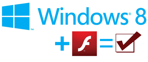 Flash player windows 8