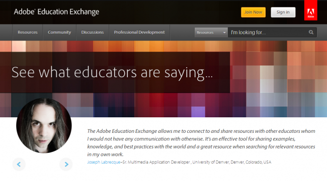 Hey! Look who is quoted on the homepage!