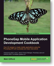 Review: PhoneGap 2.x Mobile Application Development Hotshot