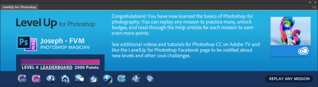 LevelUp for Photoshop – Updated for CC