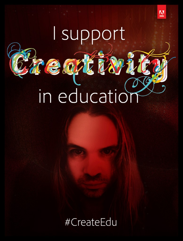 I support creativity in education