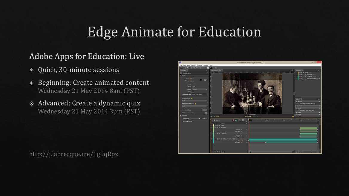 Adobe Animate for Education: Live