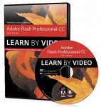 DVD: Adobe Flash Professional CC Learn by Video (2014 release)