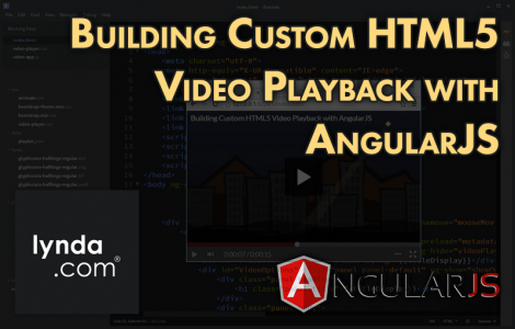 Building Custom HTML5 Video Playback with AngularJS