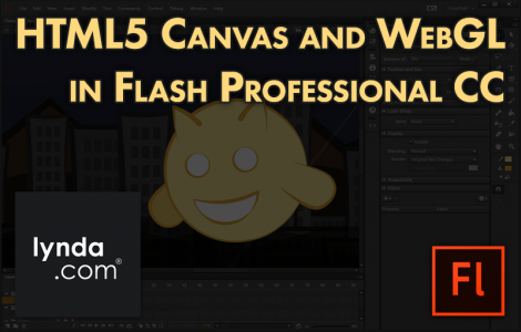 HTML5 Canvas and WebGL in Flash Professional CC