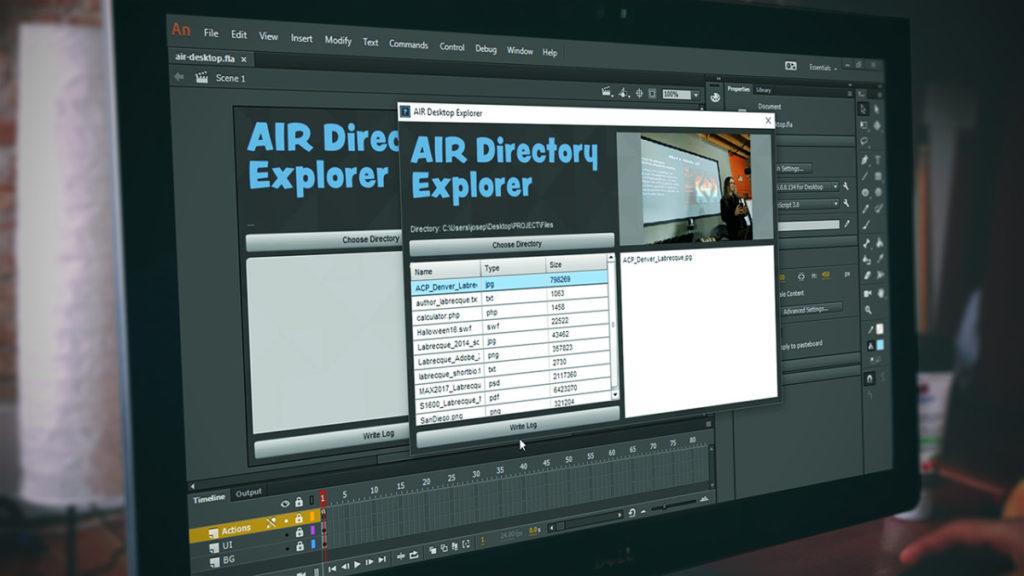 Pluralsight: Animate CC Building AIR Desktop Applications