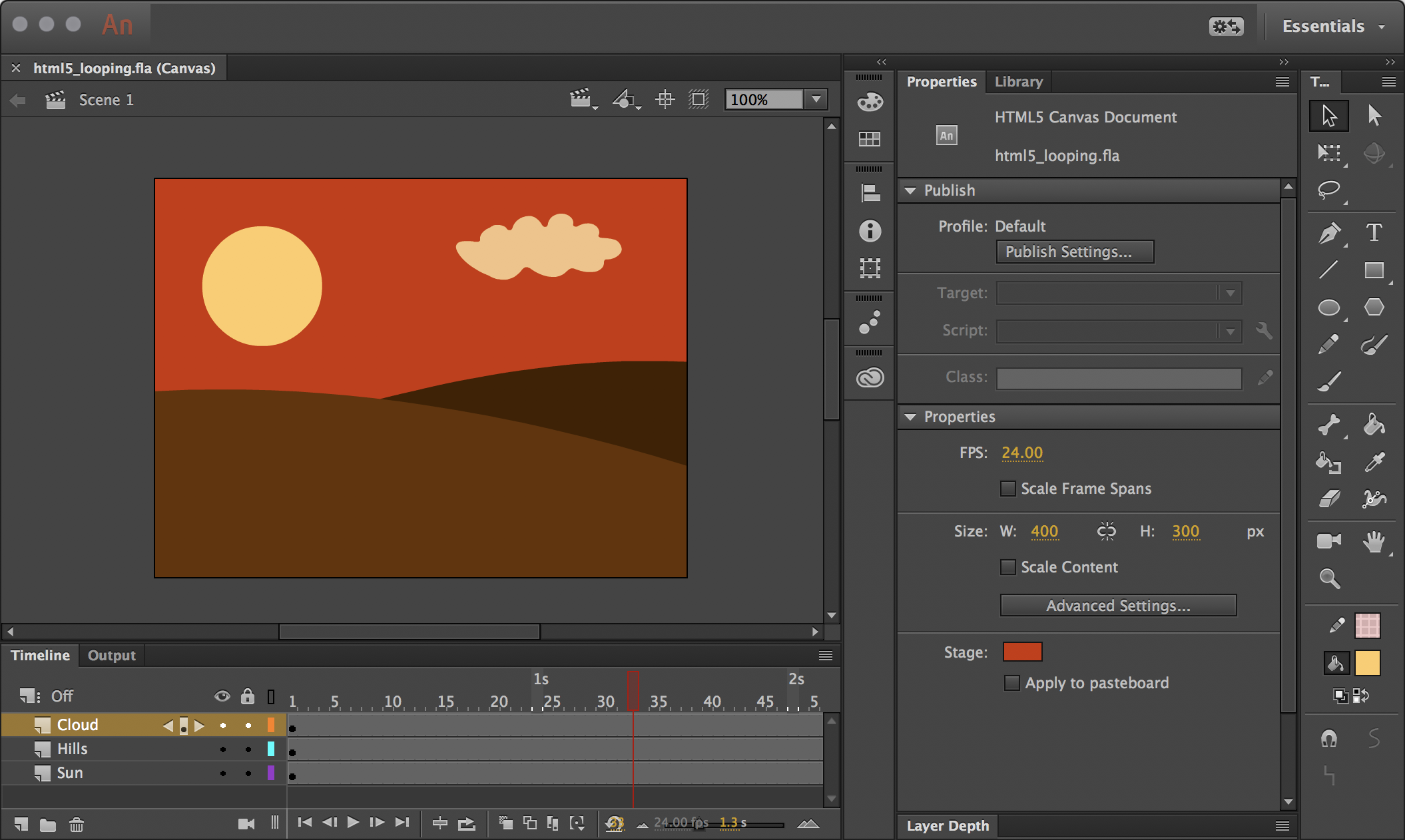 Animate CC: Looping Animations – In Flagrante Delicto!
